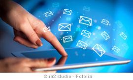 E-Zustellung aktivieren